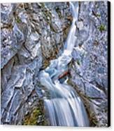 Christine Falls In Mount Rainier National Park Canvas Print