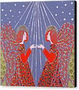 Christmas 77 Canvas Print by Gillian Lawson