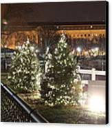 Christmas At The Ellipse - Washington Dc - 01131 Canvas Print by DC Photographer