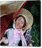 Christmas Display - Mt Vernon - 01133 Canvas Print