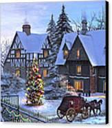 Christmas Homecoming Canvas Print