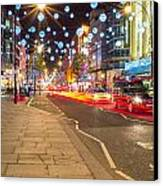 Christmas In London Canvas Print by Andrew Lalchan