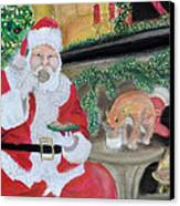 Christmas Is For Sharing 2 Canvas Print by Danae McKillop
