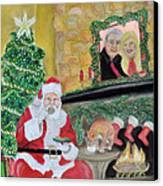 Christmas Is For Sharing Canvas Print by Danae McKillop