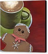 Christmas Morning Canvas Print by Natasha Denger