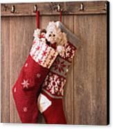 Christmas Stockings Canvas Print