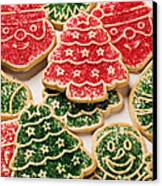 Christmas Sugar Cookies Canvas Print by Garry Gay