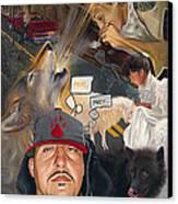 Chronicles De Burque Canvas Print by Eric Christo Martinez