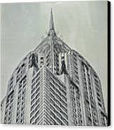 Chrysler Building Vintage Look Canvas Print