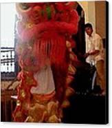 Chua Truc Lam One Man Dragon Canvas Print by Shawn Lyte