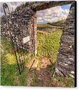 Church Gate Canvas Print by Adrian Evans