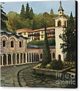 Church In Blagoevgrad Canvas Print by Kiril Stanchev