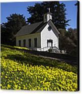 Church In The Clover Canvas Print
