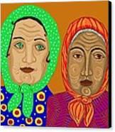 Church Ladies Canvas Print
