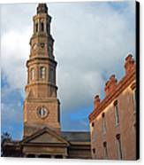 Church Street In Charleston Sc Canvas Print