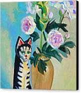 Cicero With Flowers Canvas Print by Dan Redmon