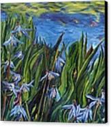 Cilia Flowers Canvas Print