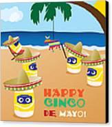 Cinco De Mayo Canvas Print by Ashley King
