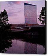 Cira Centre Canvas Print by Rona Black