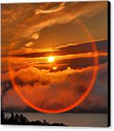Circle Round The Sun Canvas Print by Steven Ainsworth