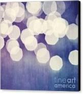 Circles Of Light Canvas Print