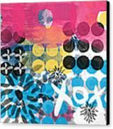 Circus - Contemporary Abstract Art Canvas Print