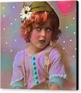 Circus Pixie Canvas Print by Karen Morley