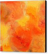 Citrus Passion - Abstract - Digital Painting Canvas Print