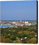 City Of St Augustine Florida Canvas Print