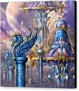 City Of Swords Canvas Print