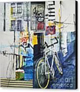 City Poetry Canvas Print by Elena Nosyreva