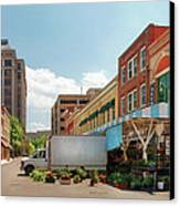 City - Roanoke Va - The City Market Canvas Print