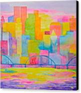 City To Dye For Canvas Print