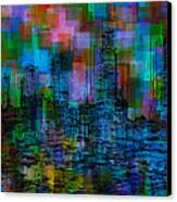 Cityscape 5 Canvas Print by Jack Zulli