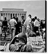 Civil Rights Occupiers Canvas Print