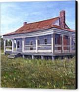 Civil War House Mansfield Louisiana Canvas Print by Lenora  De Lude