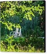 Clandestine Chair Canvas Print by Jason Brow
