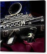 Clarinet Still Life Canvas Print by Tom Mc Nemar