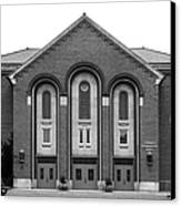 Clarke University Donaghoe Hall Theater Canvas Print by University Icons