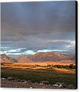 Clarks Fork Rainbow Canvas Print by Roger Snyder