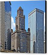 Classic Chicago -  The Jewelers Building Canvas Print