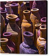 Clay Vases Canvas Print by Garry Gay