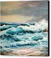 Clear Aqua Waters Canvas Print