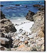 Clear California Cove Canvas Print