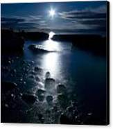 Clearville Moonrise Canvas Print