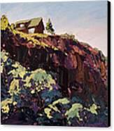 Cliff Hanger Canvas Print