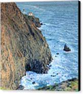 Cliffs Canvas Print by JC Findley