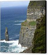 Cliffs Of Moher 7 Canvas Print by Mike McGlothlen