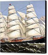 Clipper Ship Three Brothers Canvas Print by War Is Hell Store