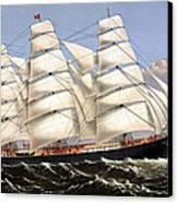 Clipper Ship Three Brothers Canvas Print